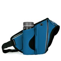 Outdoor-Taschen Laufen Taille Frauen Männer Multifunktions-WASIT-Tasche mit Flaschenhalter Brustschulter für das Wanderradfahren