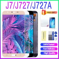 삼성 J727 화면 삼성 갤럭시 J7 V 2017 J727 J727P J727V LCD 디스플레이 스크린 디지타이저 교체 J727의 LCD에 대한