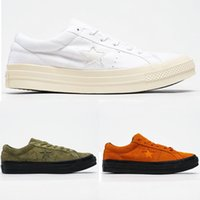 Cheaps One Star Ox gessato Casual Shoes 1970 All Star Chuck 70 Scarpe Donna Canvas Men Tutto-fiammifero vulcanizzata scarpe Sneakers Sport e tempo libero