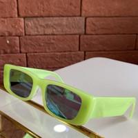 2020 أحر الأوروبية صباحا عرض أزياء GG0516S تصميم الأزياء للجنسين النظارات الشمسية UV400 الذكية تضييق نطاق مستطيلة معكرون بلانك fullrim حالة fullset