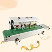 La bolsa de alimentos continua máquina de sellado automático de película plástica de embalaje de la máquina Equipo adicional Máquina de impresión Fecha 220v