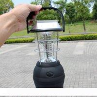 Солнечный портативный фонариков солнечный сь фонарик 36 LED лампы Солнечные лампы Ручной Перезаряжаемый Свет Открытый фонарь Кемпинг Freeship