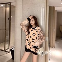 20ss new fashion women's long sleeve shirts, long sleeve T-shirts, comfortable large size, free fashion printing delivery