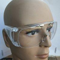 Moda de protecção Óculos Anti-fog prova de vento poeira Proteção Óculos Óculos Transparente Limpar Óculos Outdoor respingo Óculos INS