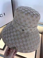 Последний лучший дизайнерский модный ковш шапка для мужской женской классической складной высокого качества крышки на открытом воздухе Спорт солнцезащитный крем Рыбалка Hat Ax055
