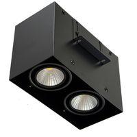 Площадь высокого качества COB LED настенный светильник 10W 15W 30W COB Прожектор Single / Double Head Потолочные светильники Накладные свет вниз