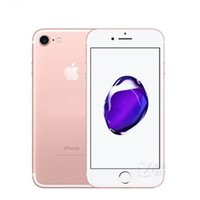 A Apple iPhone original 7 sem toque ID de 32GB 128GB IOS12 12.0MP Home Button Trabalho Recuperado Desbloqueado Mobile Phone