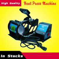 Taza alta calidad digital ajustable prensa del calor de la máquina Copa de bricolaje sublimación aparato de transferencia de calor multifuncional Mechines Botella Impresión