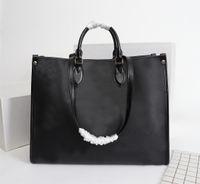 Yeni Alışveriş Çantası Tam deri kabartma torbaları Yüksek Kaliteli Tote Çanta kadınlar çanta Omuz Çantası