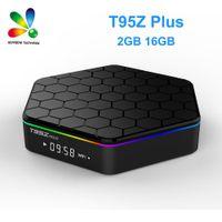 T95Z Artı 2GB / 16GB Amlogic S912 Octa Çekirdek Android 7.1 TV BOX 2,4 GHz / 5 GHz WiFi BT4.0 4K Set Üstü Kutu