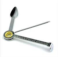 Складные три в одной сигареты аксессуаров для чистки ножа скребка три шт набора инструментов для труб