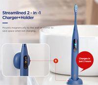 Xiaomiyoupin فرشاة الأسنان global vesion oclean pro oclean-x ل xiaomi سونيك فرشاة الأسنان الكهربائية القابلة لإعادة الشحن للماء بالموجات فوق الصوتية فرشاة الأسنان الكبار