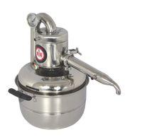 جديد 10L المياه الكحول المقطر الرئيسية الصغيرة المشروب كيت ومع ذلك صنع النبيذ تختمر المعدات آلة التقطير