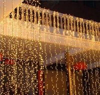 8x3m 800LED занавес Свадебная вечеринка LED занавес сосулька сетка рождественские огни дома садовые светильники Уличные светодиодные Fairy освещение водонепроницаемый