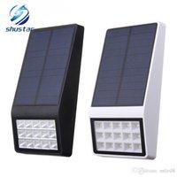 15 LED الخفيفة للطاقة الشمسية مصباح في الهواء الطلق IP65 للماء انيرجيا للطاقة الشمسية مصباح حديقة الممر ساحة حائط ميكروويف التعريفي