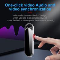 Cadena dominante profesional mini cámara grabadora de voz digital D8 HD 1080P llavero grabador de audio y vídeo construir-en la tarjeta de memoria de 8 GB 16 GB