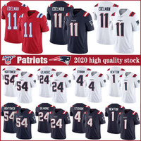 1 Cam Newton 11 Julian Edelman New England