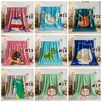 Baby Blanket Cartoon Children's Fluffy Crowet Filtet Soft Skin Friendly Baby Cartoon Blankets 100 * 140cm Hem Textiler CCA12372 15PCS