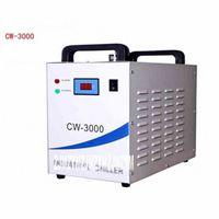 CW-3000 Isı yayan Endüstriyel Soğutucu / Buzdolabı / Su Deposu Lazer Makine AC 220V / 110V 50 / 60Hz 0.45A 10M 10L / dk LsrO #