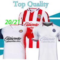 20 21 Chivas Casa Away Jersey A.Pulido Lopez Brizuel Vega Camisas 2020 2021 Chivas Guadalajara Sports Futebol Uniformes