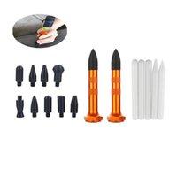 PDR-Werkzeug PDR Tippen Sie auf Aluminium niederschlagen Einschraubenköpfe Kunststoff-Metall - Auto-Körper-lacklosen Dent-Reparaturwerkzeuge