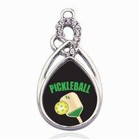 Charms Pickleball pendente del cerchio di rame regalo gioielli connettore del braccialetto delle donne collana per Accessori