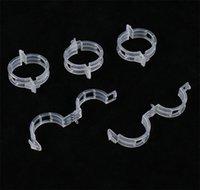 New Patio 23mm Suporte Fábrica de plástico clipes braçadeiras para plantas de suspensão Vine jardim da estufa Vegetais Tomates Clipes