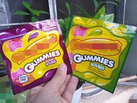 empty edibles packaging bag gummies sour bag 500mg resealabl...