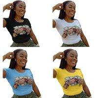 إمرأة مصمم الزى الصيف الظهر جوفاء بلوزة فتاة غير النظامية الحلوى اللون طاقم الرقبة قصيرة الأكمام ملابس الصيف مصمم قميص