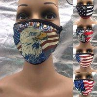 دونالد ترامب قناع الوجه 2020 مؤيد الانتخابات الأمريكية الفم غطاء للجنسين أقنعة الغبار مضاد قابل للغسل تنفس DDA158