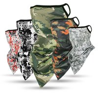 2020 Army Hiking Scarves Polyester Windproof Neck Warmer Fac...