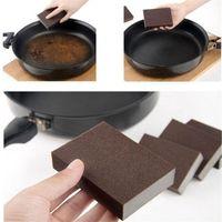 100 * 70 * 25 mm de alta densidad Nano Emery magia melamina esponja para la limpieza Hogar y Menaje de cocina Esponja eliminación de óxido Rub DHA463