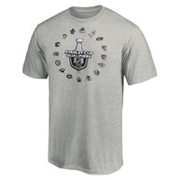 2020 Stanley Cup Qualifiers Hockey Jersey Mens T- Shirts Pull...