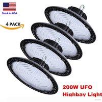 UFO LED High Bay Light ETL 100W 150W 200W LED Flood Light IP65 Waterproof Aluminium Mining Highbay Lamp Stocked In USA