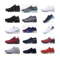 С Box 2020 Fly 1,0 2,0 3,0 Тройной Black White Pure Platinum мужчины и женщины кроссовки тренер Sneaker обувь