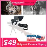 Megaorei 나이트 비전 범위 카메라 사냥 야생 동물 트랩 적외선 LED가 IR 옥외 방수 카메라의 850nm IR