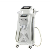 OPT E- light IPL laser SHR nd yag RF laser permanent hair rem...