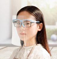 حامل PET مواجهة الدرع مع زجاج السلامة المضادة النفط سبلاش برهان المضادة للأشعة فوق البنفسجية واقية تغطي الوجه شفاف الوجه غطاء زجاجي قناع IIA325