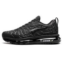 Onemix Nova Chegada Mens Mens De Malha Designer Jogging Treinamento Ao Ar Livre Sapatos Casuais Sapatos Para Air Almofada Loafers Sneakers