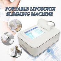 yüz ve vücut Zayıflamak için ev kullanımı 8mm 13mm Yayıcısına için Taşınabilir liposonix Lipo HIFU zayıflama güzellik makine HIFU liposonix