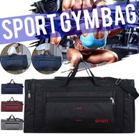 Large Capacity Nylon Fitness Gym Yoga Bag Outdoor Sports Luggage Bag Travel Handbag