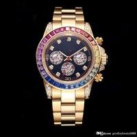 Feita por top mestre universal medidor dantona 116595 116598 116599 série 18k ouro automático relógio de luxo mecânico para homens
