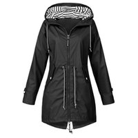 Wanderjacke Leichte Regenjacke Outdoor-Bekleidung Damen-Jacken-Mantel Winddichtes Transition Female Raincoat Camp Jacken
