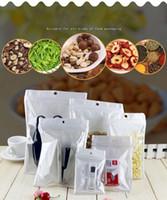 Limpar + cheiro prova branco mylar sacos de plástico de bloqueio do fecho de correr Runtz embalagens presente OPP grandes quantidades Pacote de PVC saco auto selagem saquinhos whosalse