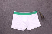 2020 бренда Мода Мужчины Крокодил Boxer Shorts Sexy Трусы мягкая Комфортная Мода Упругие Марка Boxer Нижнее белье для мужчин