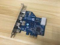 لIOI FWB-PCIE1X21A / B PCI-E ل1394B HD DV التقاط كاميرا بطاقة 800M الصناعية