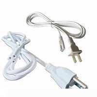 T5 T8 cable de conexión Los cables de alimentación con enchufe estándar de los Estados Unidos para T5 T8 integrados tubos de LED 3 Prong 100cm 150cm Cable
