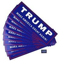 트럼프 자동차 반사 스티커 미국의 위대한 다시 2020 트럼프 스티커 미국 대통령이 도널드 트럼프 자동차 배너 FY6083 확인
