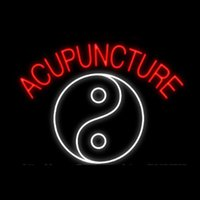 Acupuncture Yin Yang Neon Sign Handmade Real Glass Tube Bar ...