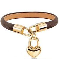 Bracelets de mode pour bracelets de femme ou homme bracelet de haute qualité Bracelet en cuir pour couple Bracelet de qualité supérieure